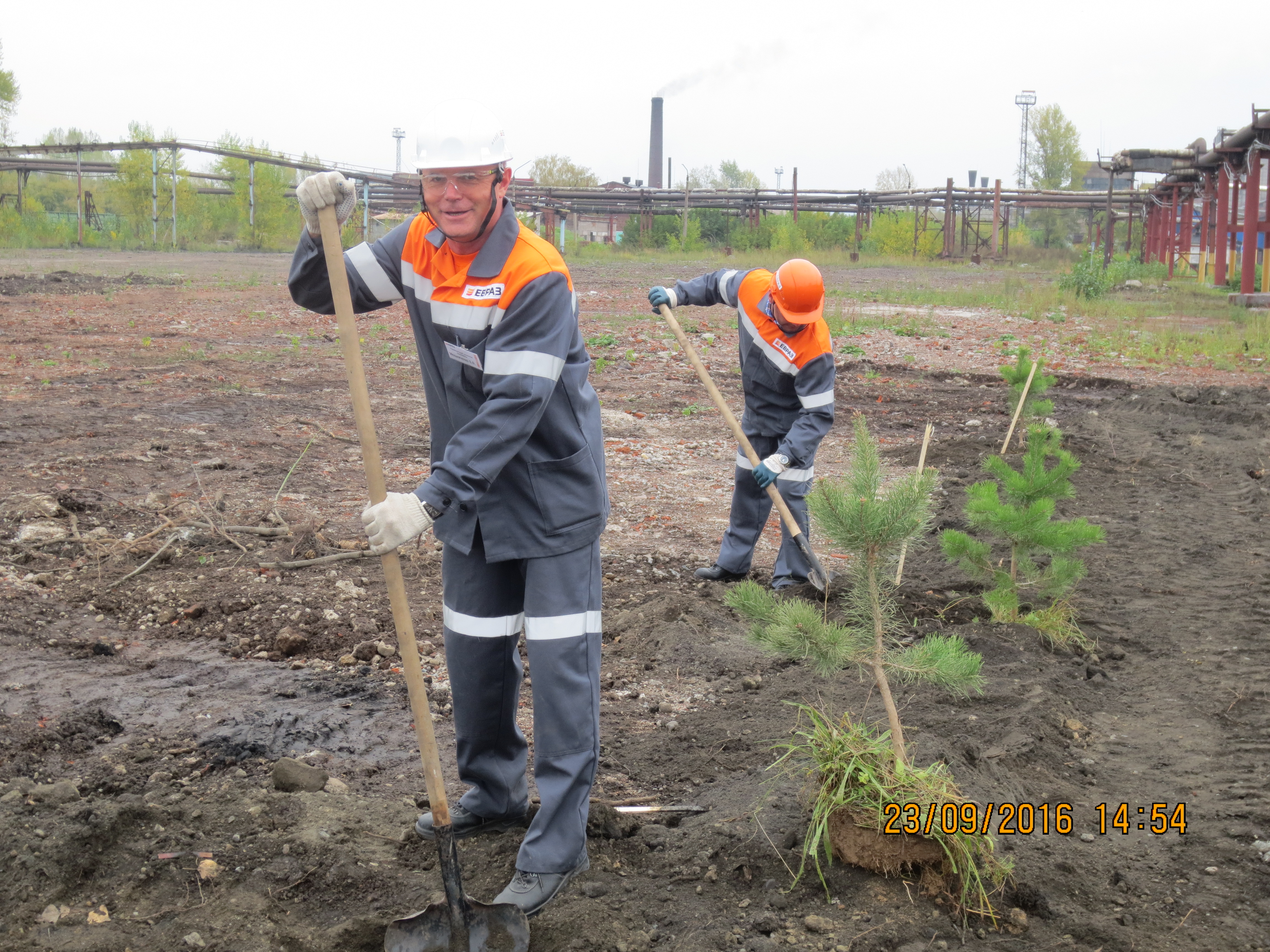 EVRAZ pays special attention to environmental protection